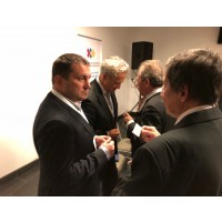 """The founder of the investment online platform """"INVESTOR FOR COMMUNITY"""" Volodymyr Gergeliuk presented it at the Ukrainian-Lithuanian Economic Forum"""